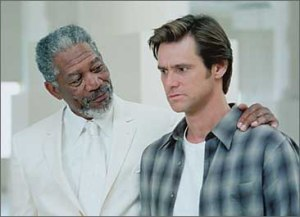 Morgan Freeman y Jim Carrey